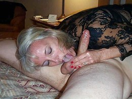 Lonely ex-wife sucking dick and..