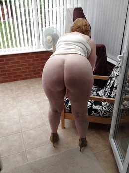 Mature BBW with wide hips and big asses