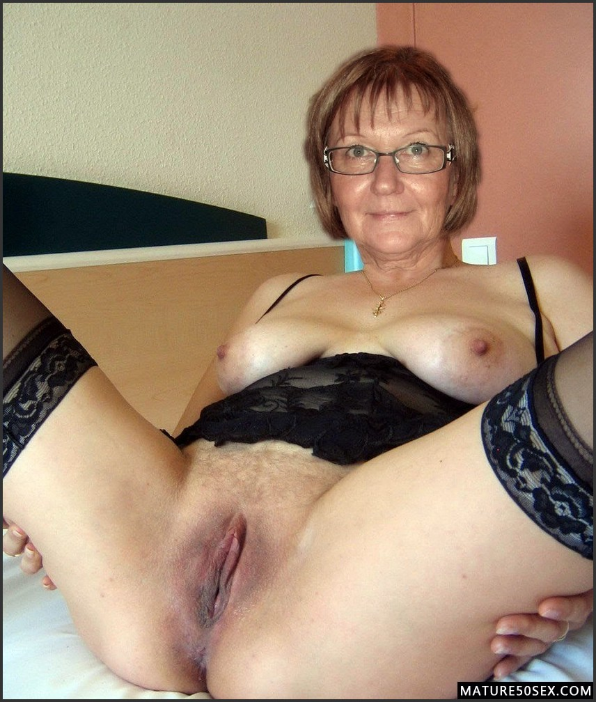 Mature bitch undressed